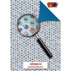 Creative Papers – Cupcakes Blauw - DV94510