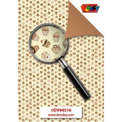 Creative Papers – Cupcakes Beige - DV94516