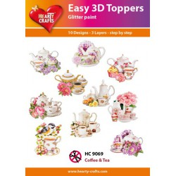 Easy 3D Topper - Koffie & Thee - HC9069