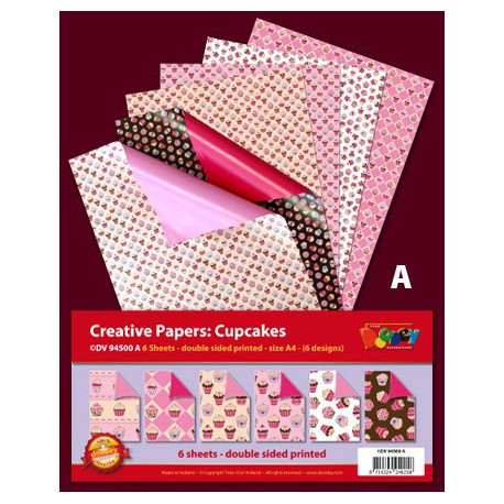 Creative Papers – Cupcakes - DV94500A